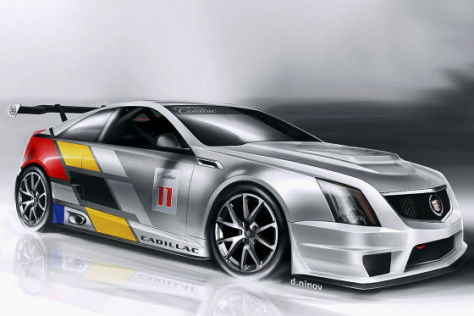 Cadilaac CTS-V Rennversion