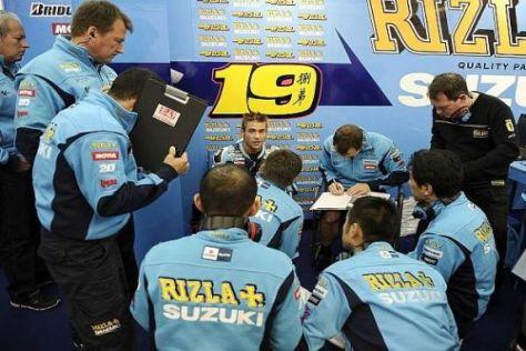 Einzelkämpfer: Bei Suzuki richten sich 2011 alle Augen auf Álvaro Bautista