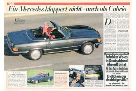 Mercedes 300 SL Cabrio
