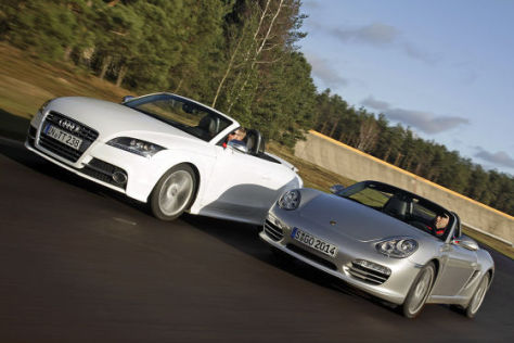 Audi TTS Porsche Boxster