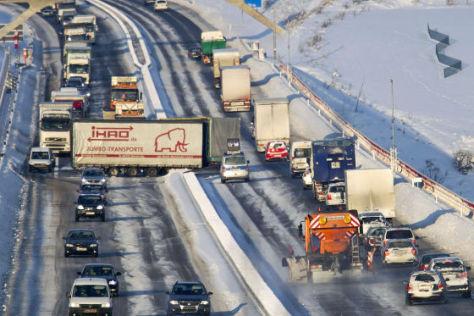 Verkehrschaos auf der A71