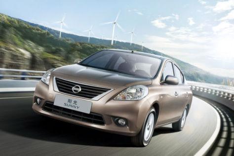 Nissan Sunny (2011 China-Modell)