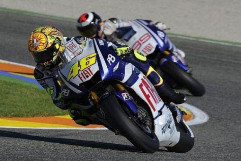 Es war einmal: Valentino Rossi hat Yamaha in Richtung Ducati verlassen...