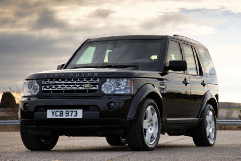 Land Rover Discovery Armoured
