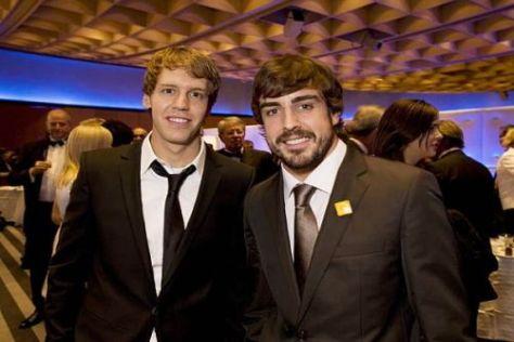 Sebastian Vettel und Fernando Alonso: Eines Tages Teamkollegen bei Ferrari?