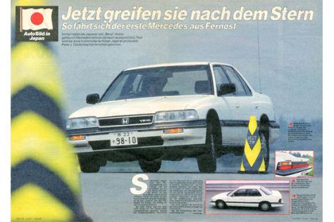 Honda Legend, Mazda RX-7 Turbo, Toyota Supra