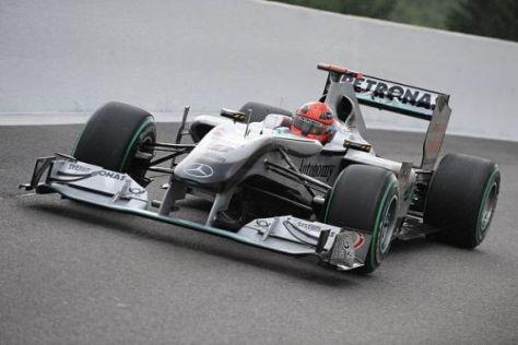 Sogar Mercedes hat während der Saison 2010 rund eine Sekunde gefunden
