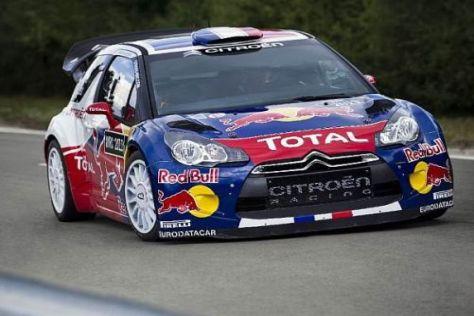 Vorbereitung auf 2011: Der neue Citroën DS3 WRC wird derzeit ausgiebig getestet