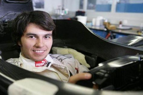Sergio Pérez wird 2011 seine Formel-1-Debütsaison mit Sauber bestreiten