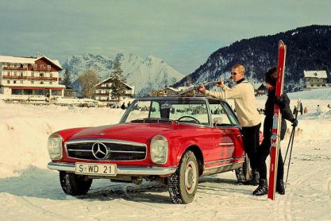 "Mercedes SL ""Pagode"""