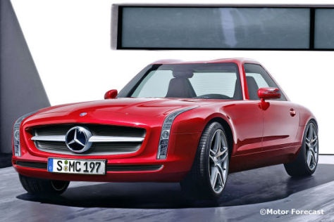 "Mercedes SL ""Neo-Pagode"""