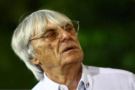 Bernie Ecclestone macht sich seine Gedanken zum Formel-1-Jahr 2010