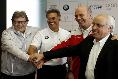 Mit BMW sind ab 2012 drei Premiumhersteller in der DTM vertreten
