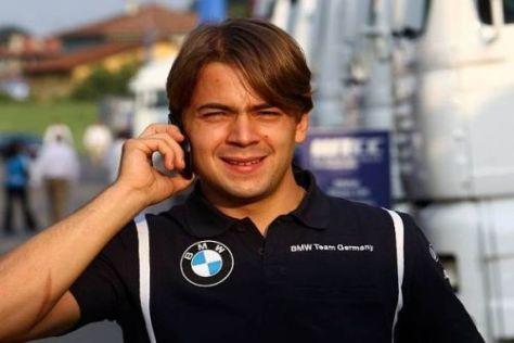 Der Brasilianer Augusto Farfus spielt auch 2011 eine wichtige Rolle bei BMW