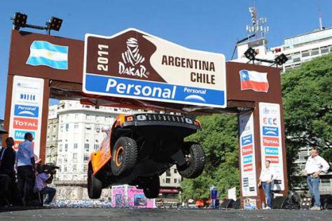 Rallye Dakar 2011: Etappe 1