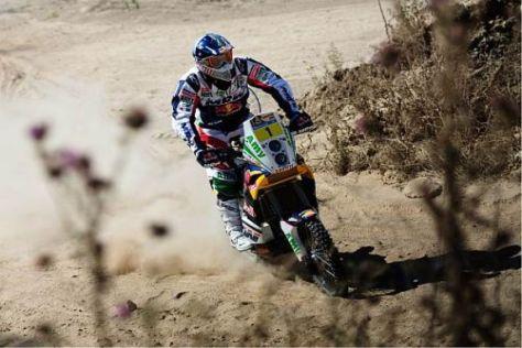 Titelverteidiger Marc Coma auf KTM fährt mit der Startnummer eins