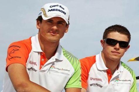 Adrian Sutil und Paul di Resta werden in diesem Jahr für Force India fahren