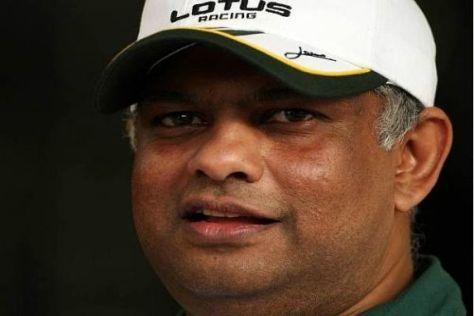 Tony Fernandes und sein Team setzen ab der Saison 2011 auf Renault
