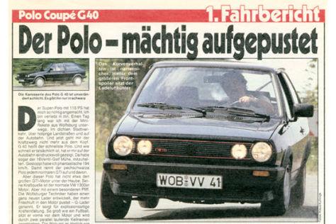 Polo Coupé G 40