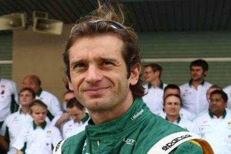 Skeptischer Blick: Jarno Trulli klagt über die Rolle des Geldes in der Formel 1