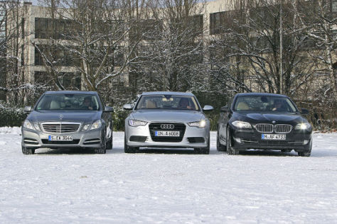 Mercedes E-Klasse Audi A6 BMW 5er