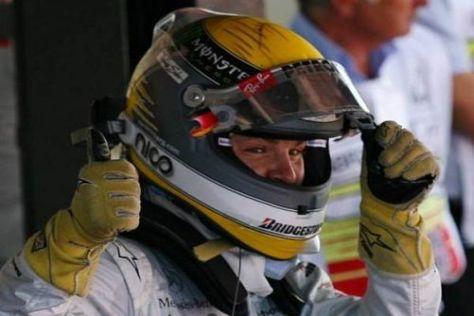 Wann darf Nico Rosberg in der Formel 1 endlich so richtig jubeln?