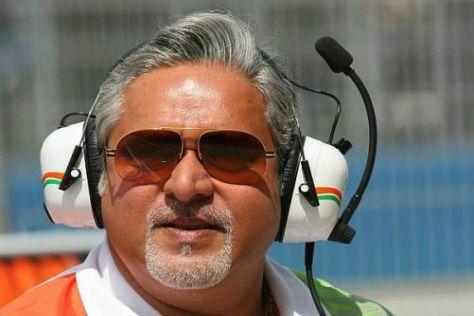 Vijay Mallya freut sich auf die neue Saison und über das Karthikeyan-Comeback