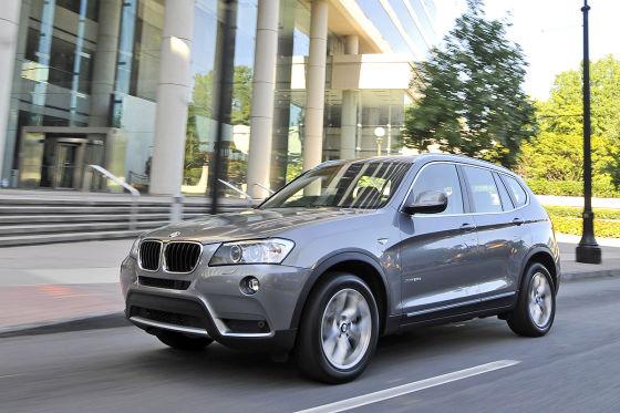 Besonders Geländewagen, wie der BMW X3 gehören zu den Lieblingen der amerikanischen Autokäufer.
