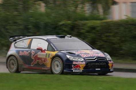 Kimi Räikkönen bleibt der Rallye-WM (WRC) und Hersteller Citroen erhalten