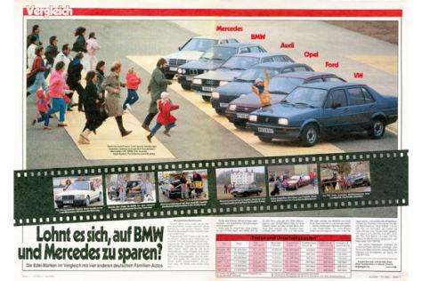 Taugen Benz und BMW für Familien?