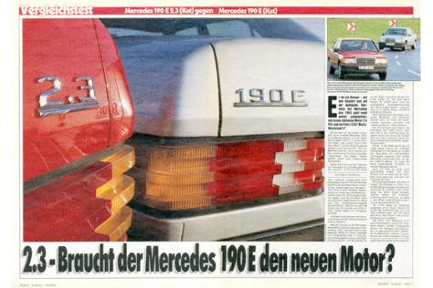 Mercedes 190 E 2.3