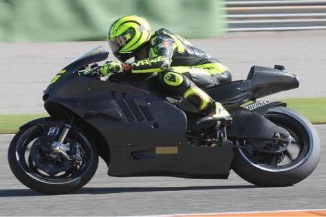 Die Ducati Desmosedici GP11 soll Valentino Rossi zu Siegen verhelfen