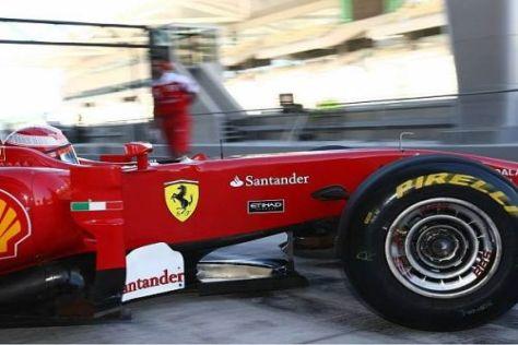 Bei den ersten Testfahrten mit Pirelli-Reifen erzielte Ferrari jeweils die Bestzeit
