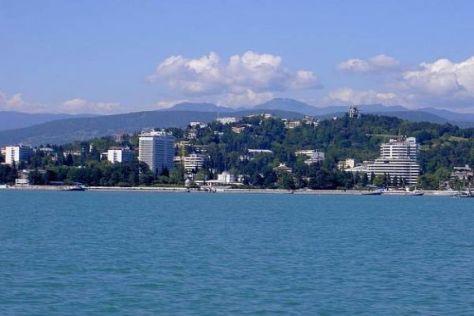 Sotschi am Schwarzen Meer wird zwei große Sportereignisse beherbergen