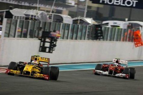 Für Petrow keine große Sache: Der Triumph gegen Alonso in Abu Dhabi