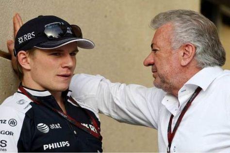 Willi Weber will Nico Hülkenberg 2012 wieder Rennen fahren sehen