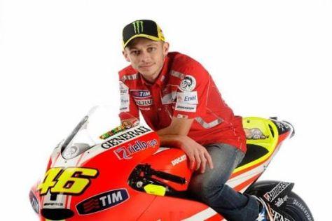 Ducati: Alle warten auf die endgültige Genesung von Valentino Rossi