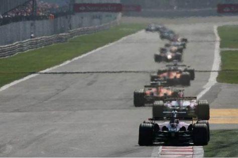 Die langen Geraden von Monza gehören traditionell zum Formel-1-Rennkalender