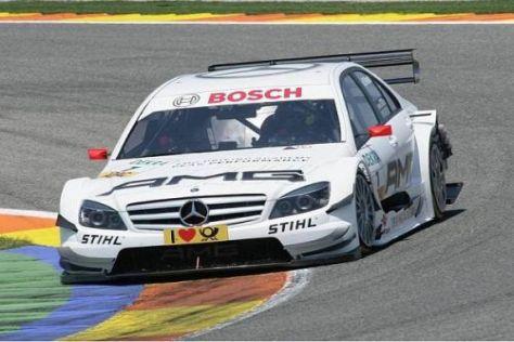 Frage bei Mercedes: Wer wird in der HWA-C-Klasse von Paul di Resta sitzen?