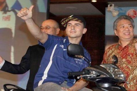 Weltmeister Jorge Lorenzo wurde in Indonesien wie ein Rockstar gefeiert