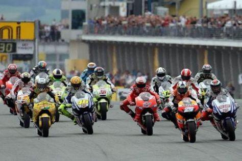 Wie gewohnt werden die MotoGP-Stars um 14:00 Uhr Ortszeit losgeschickt