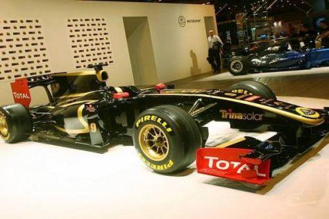 Der neue Renault R31 wird ein großes Lotus-Logo auf der Nase haben
