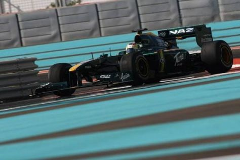 Der Lotus-Rennstall bestreitet in diesem Jahr seine zweite Formel-1-Saison
