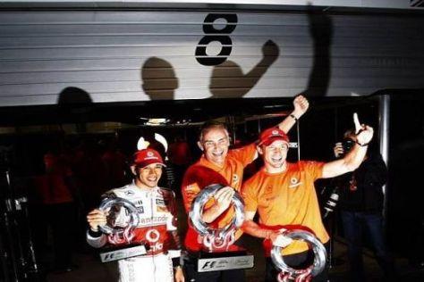 Martin Whitmarsh ist mit Lewis Hamilton und Jenson Button sehr zufrieden