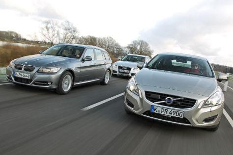Audi A4 Avant BMW 3er Touring Volvo V60