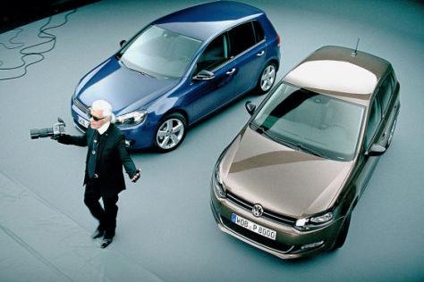 Karl Lagerfeld mit VW-Sondermodellen Style