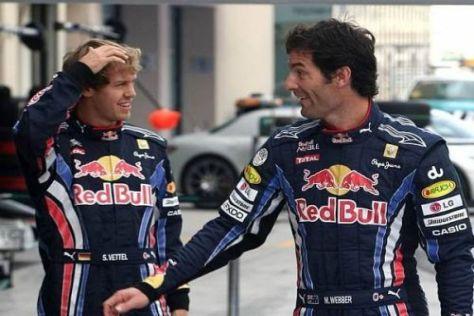 Sebastian Vettel (li.) und Mark Webber bereiten sich auf die neue Rennsaison vor