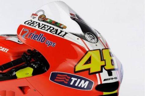 Die Ducati GP11 wurde in Jerez nicht von den beiden Werkspiloten gefahren