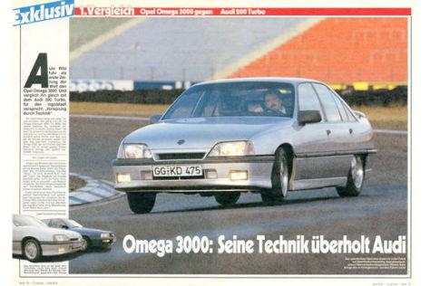 Opel Omega 3000 Audi 200 Turbo