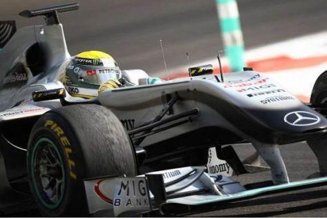 Nico Rosberg wird als Erster in den Genuss kommen, den W02 für 2011 zu pilotieren